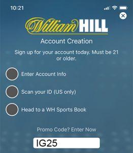 new account bonus betting
