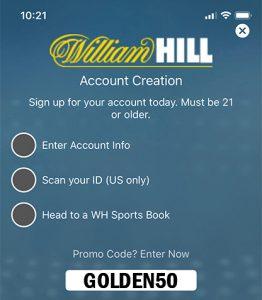 GOLDEN50 Promo William Hill Sportsbook Promo Codes | Sports