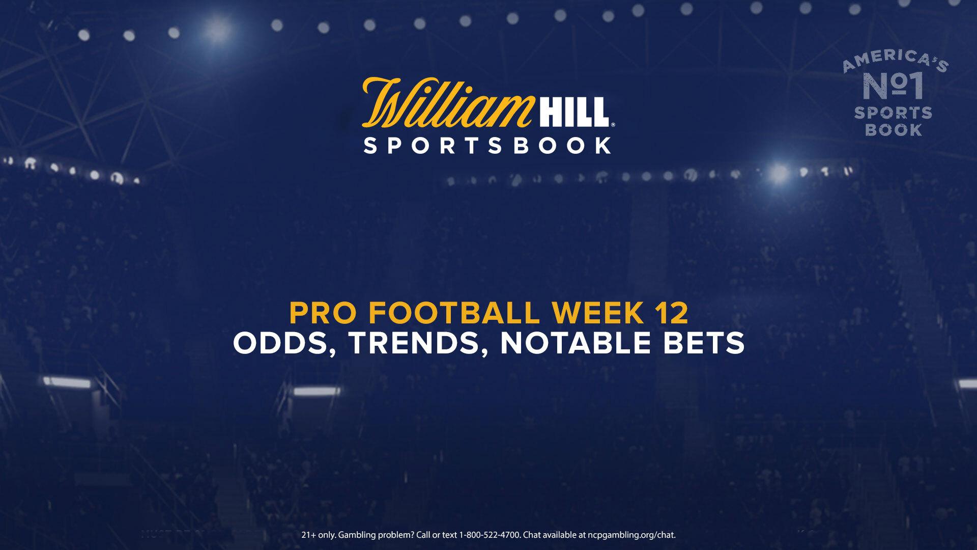 Betting trends nfl week 12 odds sky bet sports pariuri sportive online